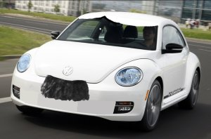Volkswagen Beetle Hitler Edition, yesterday