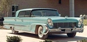 A 1958 Lincoln, twenty thousand four hundred and fifty four yesterdays ago