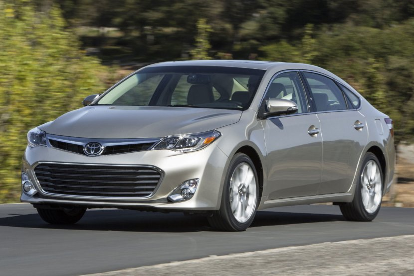 A Toyota Avalon being Car of the Year, yesterday