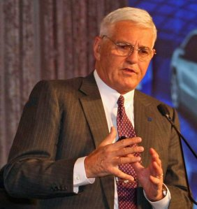 Bob Lutz saying something really shocking, yesterday