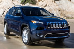 A 2014 Jeep Cherokee, yesterday