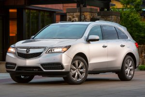2014 Acura MDX, yesterday