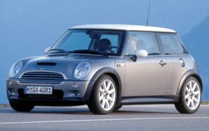 Possibly the new MINI Cooper, yesterday