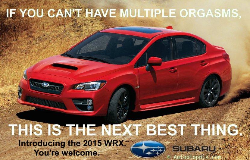 Subaru WRX ad