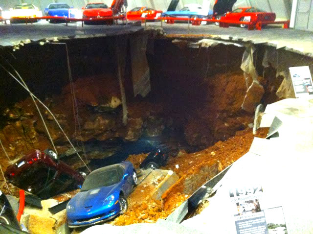 Porsche Charged In Corvette Museum Sinkhole And Frame Up