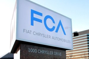 Chrysler Fiat's new FCAing sign, yesterday