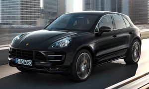 The 2015 Porsche Macan, yesterday