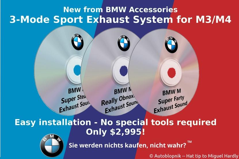 BMW Sport Exhaust ad