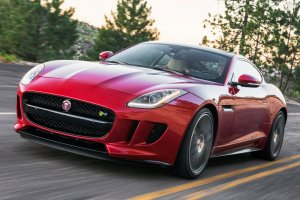 The 2015 Jaguar Ftyper Coupe, yesterday