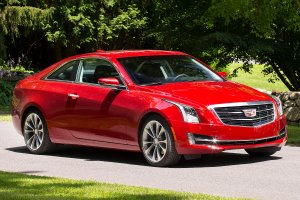 The Cadillac soon to be known as the Cadillac formerly known as the ATS, yesterday
