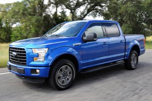 A 2015 Ford Aluminum, yesterday