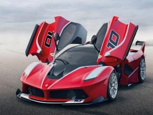 A Ferrari FxxK, yesterday