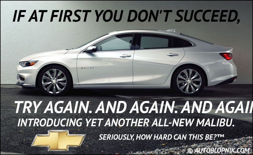 Chevrolet Malibu ad