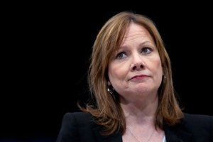 Mary Barra apologizing, yesterday