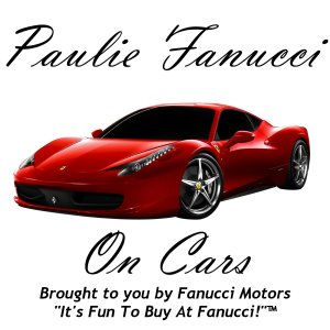 The Paulie Fanucci On Cars Podcast logo, yesterday